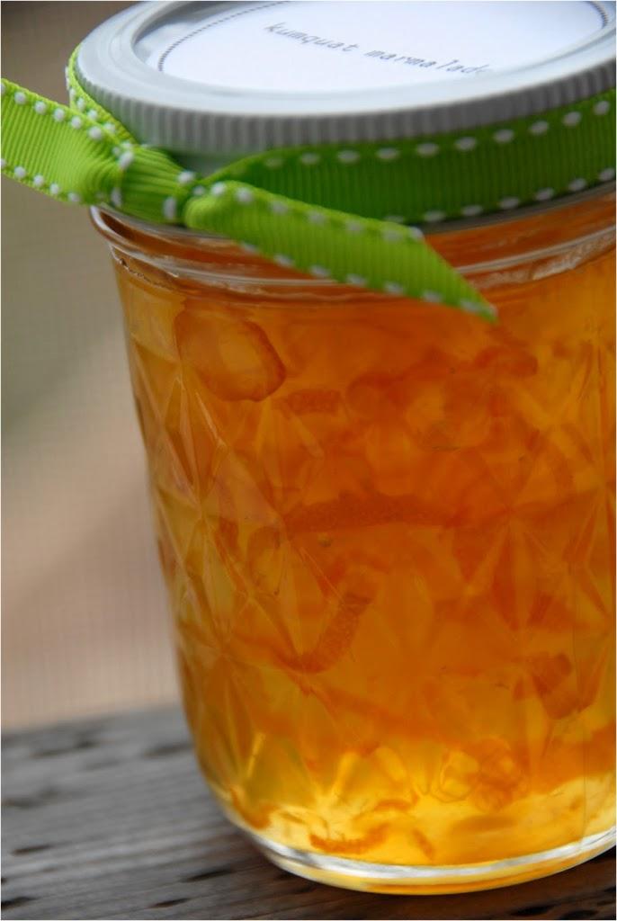 homemade kumquat marmalade | kumquat