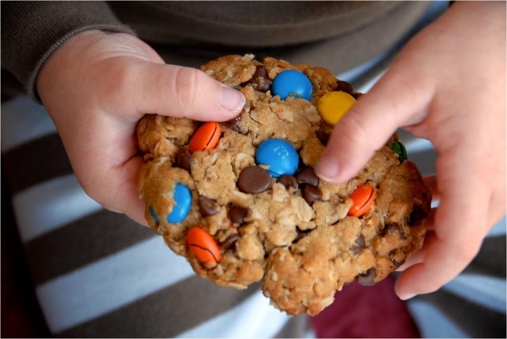 gluten-free monster cookies | kumquat