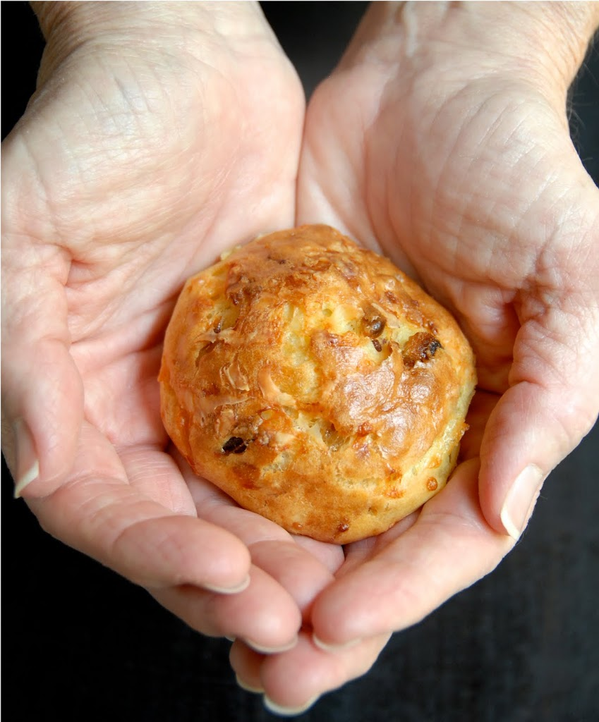 Gluten Free Ratio Rally: Cheddar Gougères with Dates and Pine Nuts & A Danish Puff
