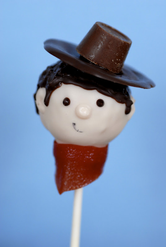 Cowboy Cake Pops
