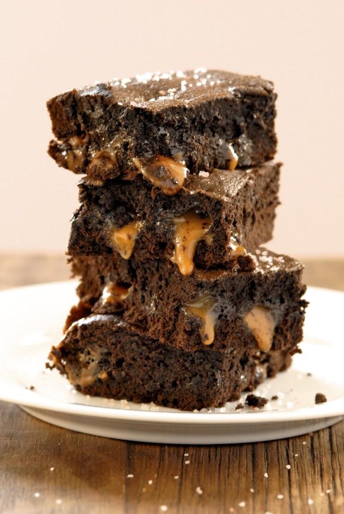 Salted Caramel Chocolate Brownies Recipes — Dishmaps