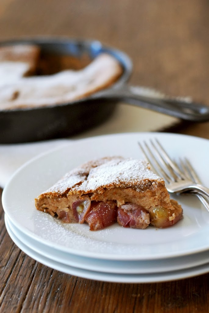 grape-clafouti