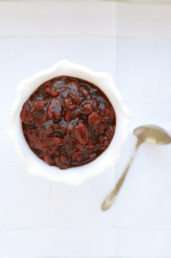 cherry cranberry sauce 1
