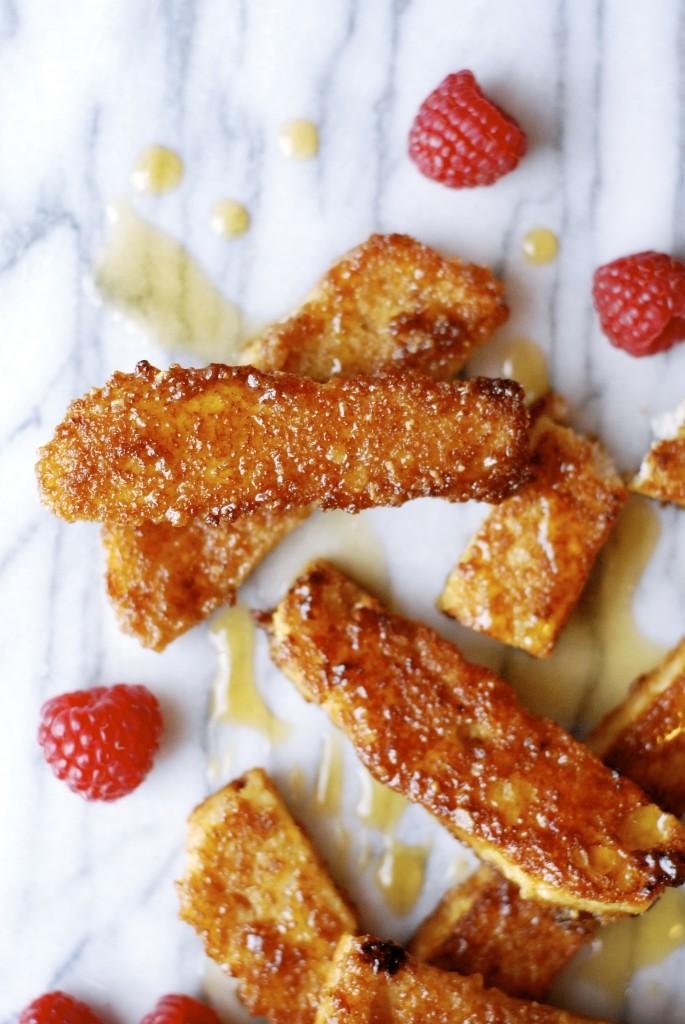 how to make cinnamon french toast sticks