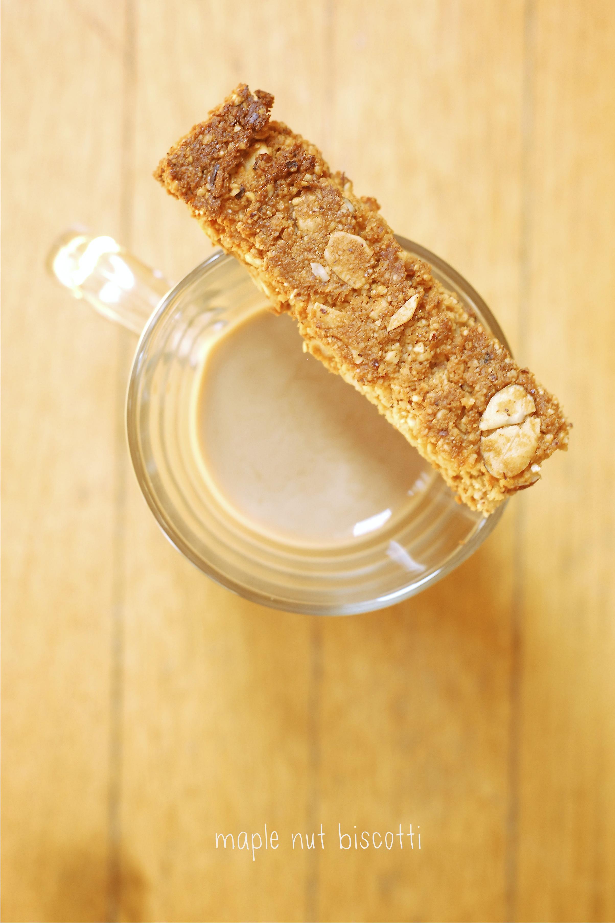 Maple Nut Biscotti