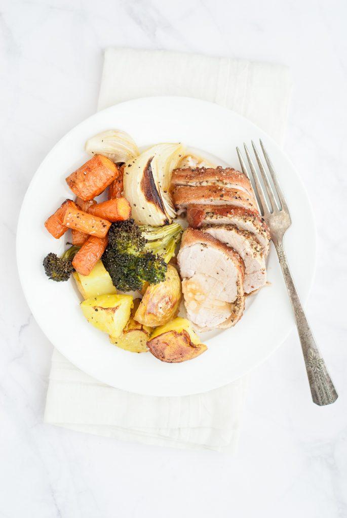 Easy Fall One-Pan Pork Dinner