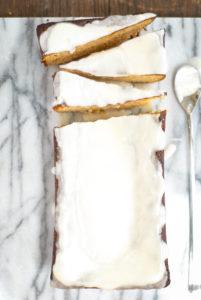 {grain-free} orange almond cardamom loaf cake | kumquatblog.com @kumquatblog