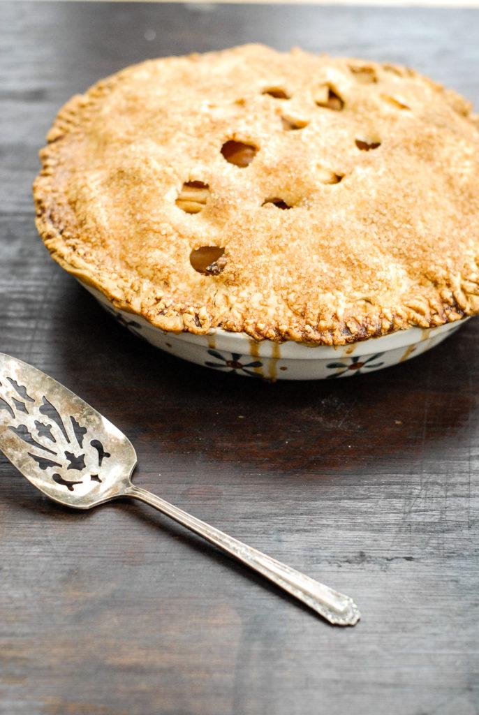 Old-Fashioned Apple Pie [gluten-free] | kumquat