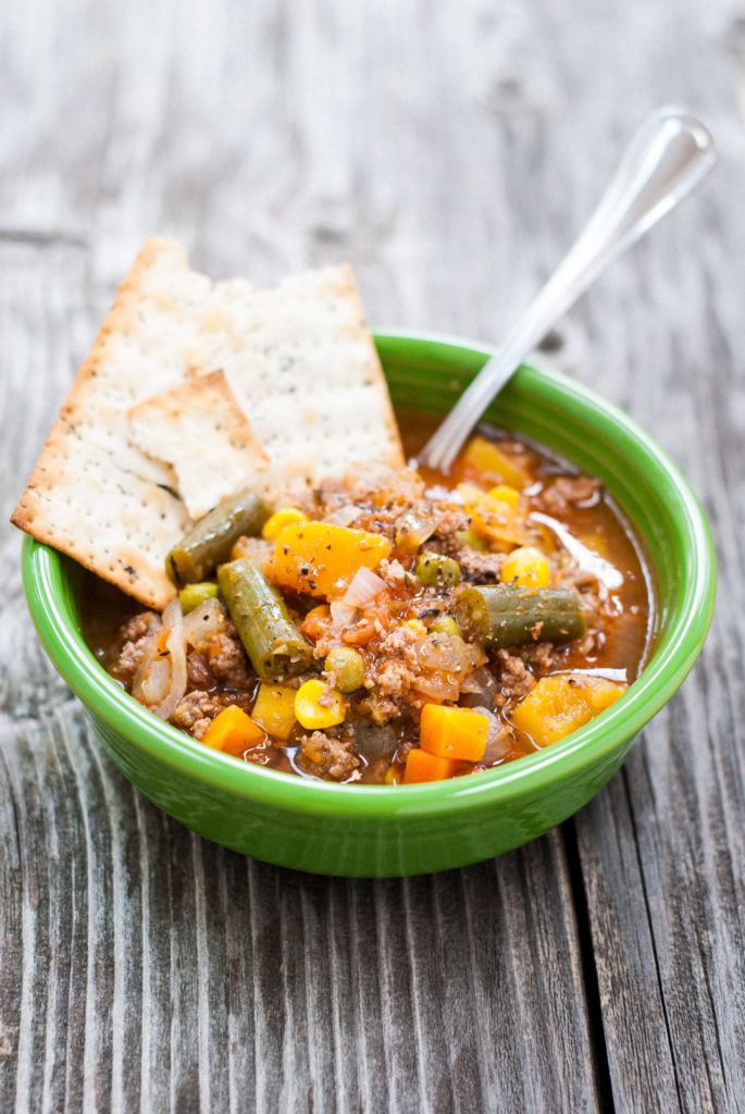 Old-Fashioned Backyard Stew | kumquatblog.com @kumquatblog