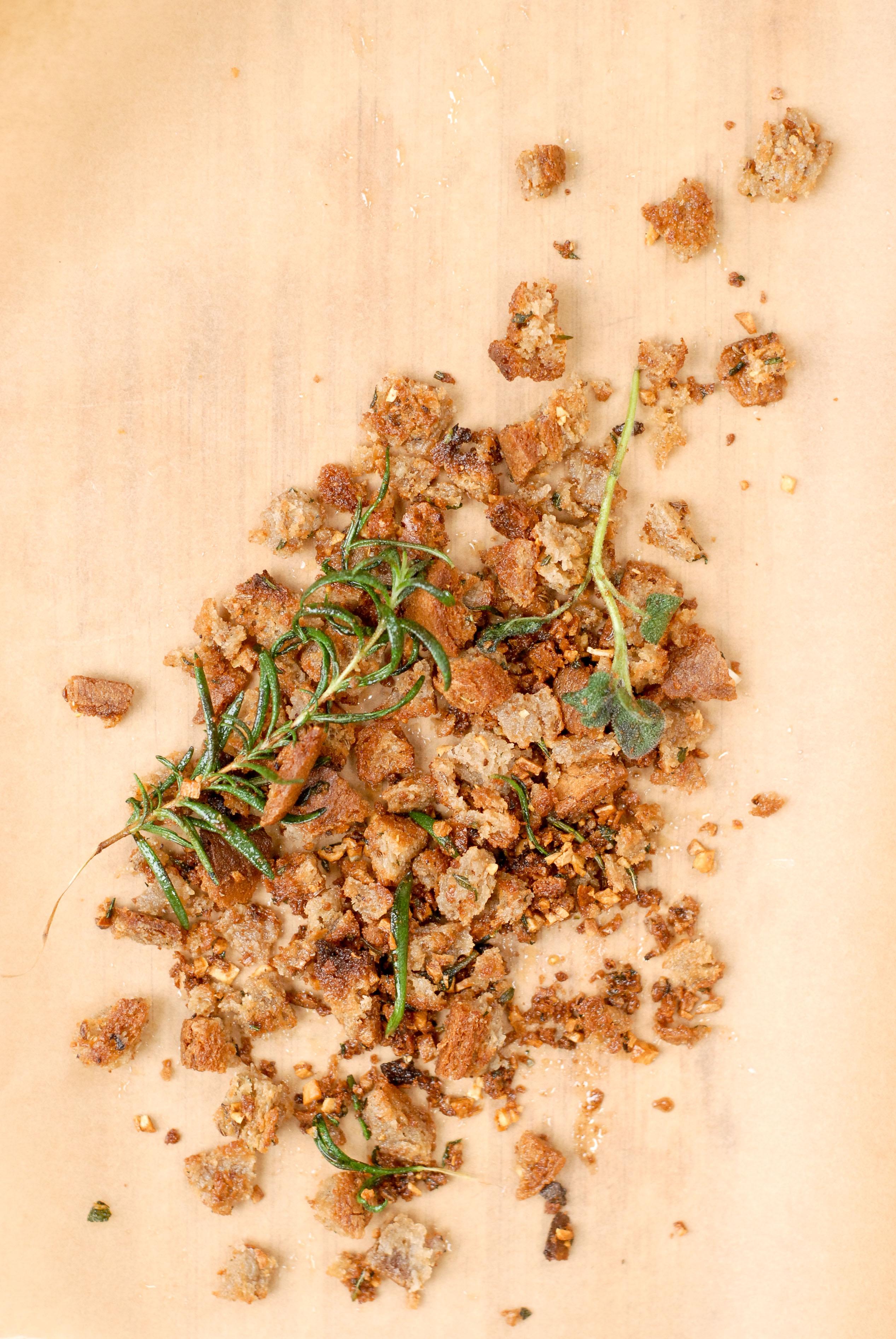 Garlic-Herbed Breadcrumbs