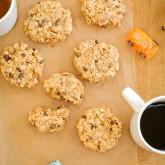 {gluten-free} super easy breakfast cookies | kumquat