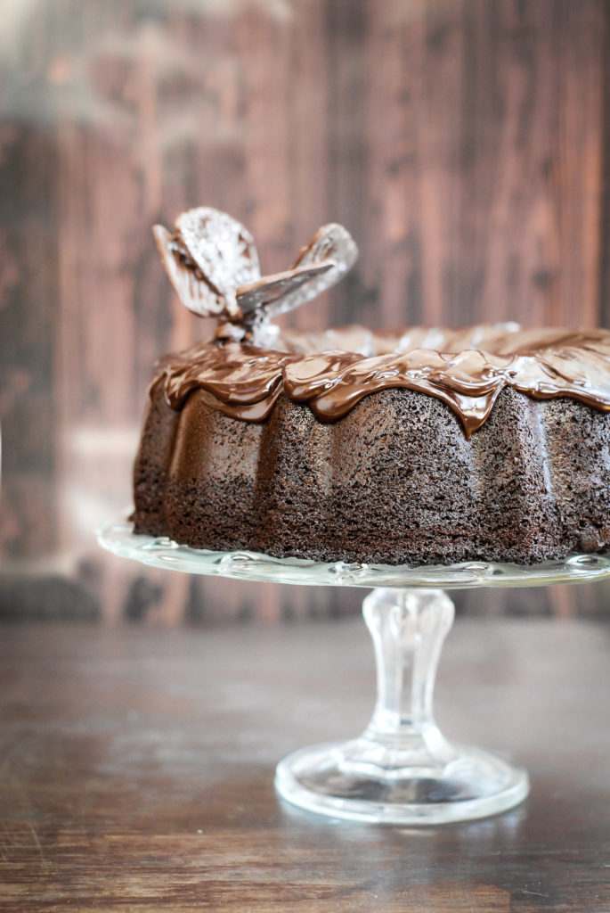 best ever grain-free chocolate cake | kumquatblog.com @kumquatblog