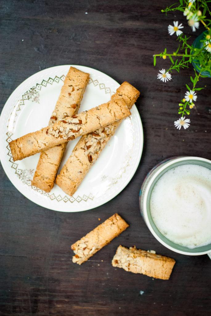 grain-free sweet sage and pecan biscotti   kumquatblog.com @kumquatblog recipe