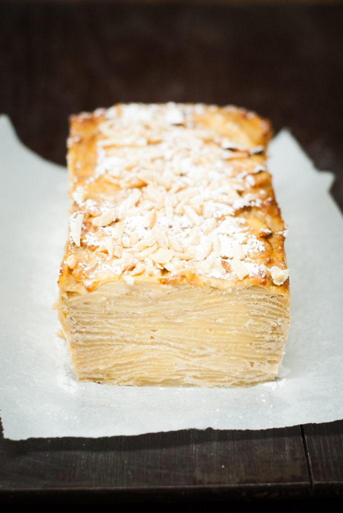 Grain-Free Invisible Apple Cake | kumquatblog.com @kumquatblog recipe
