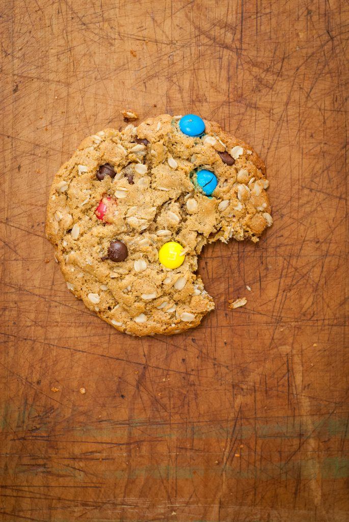 gluten-free monster cookies | kumquatblog.com @kumquatblog recipe