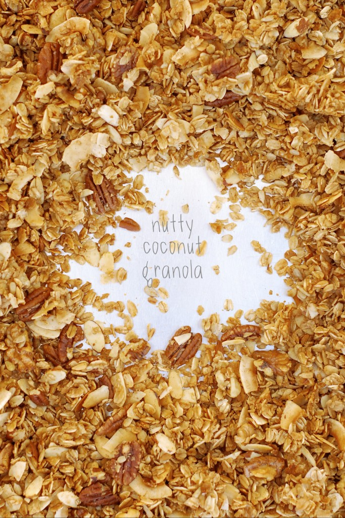 gluten-free nutty coconut granola | kumquat