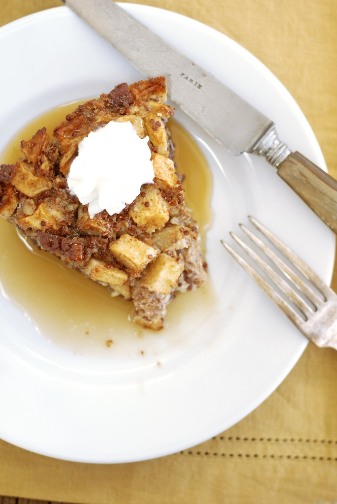 Apple Pie Quinoa Bake {gluten-free} | kumquat
