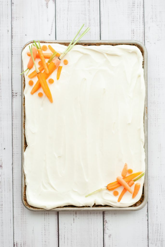 Simple Grain-Free Carrot Cake with Cream Cheese Frosting