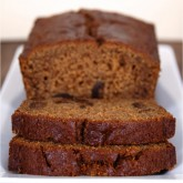 gingerbread fig loaf | kumquatblog.com @kumquatblog