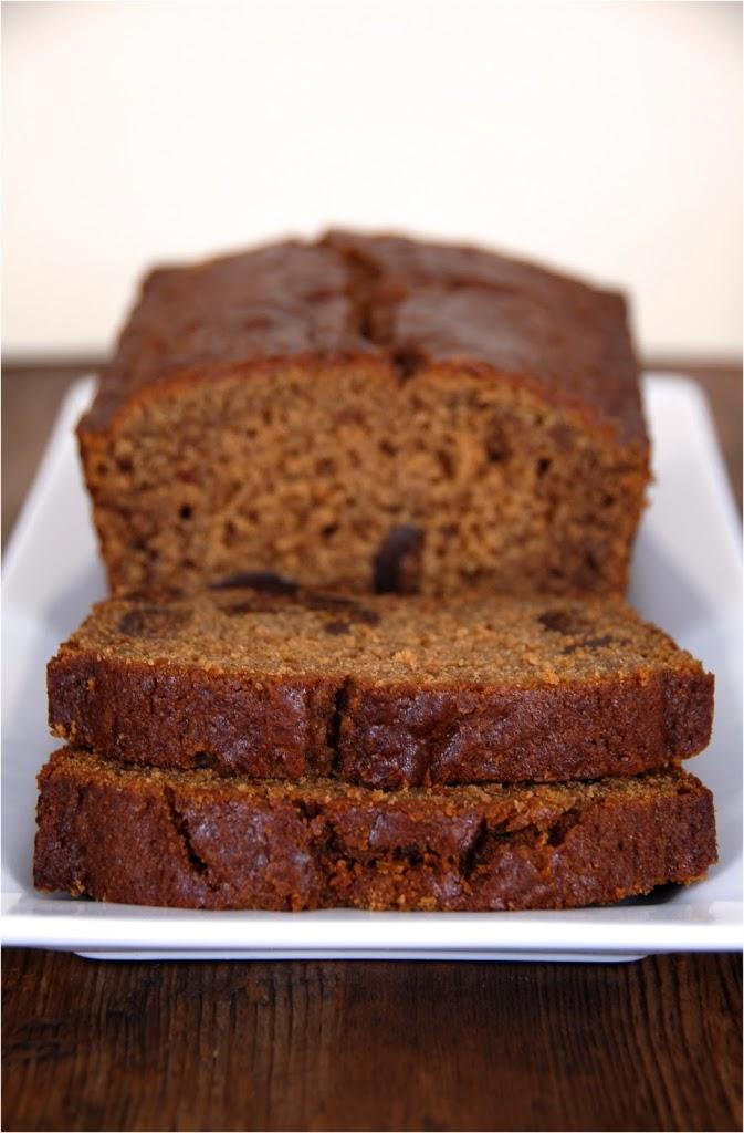 Gingerbread Fig Loaf