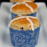 hot crossed buns {gluten-free} | kumquatblog.com @kumquatblog