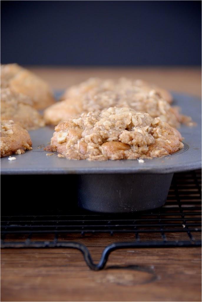 gluten-free blueberry oat muffins | kumquatblog.com @kumquatblog