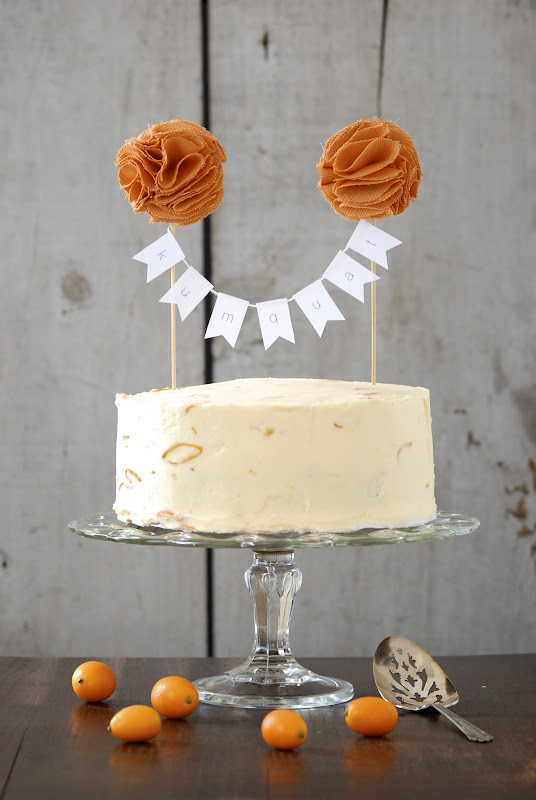 One Year Celebration Chocolate Cake With Kumquat Marmalade Frosting