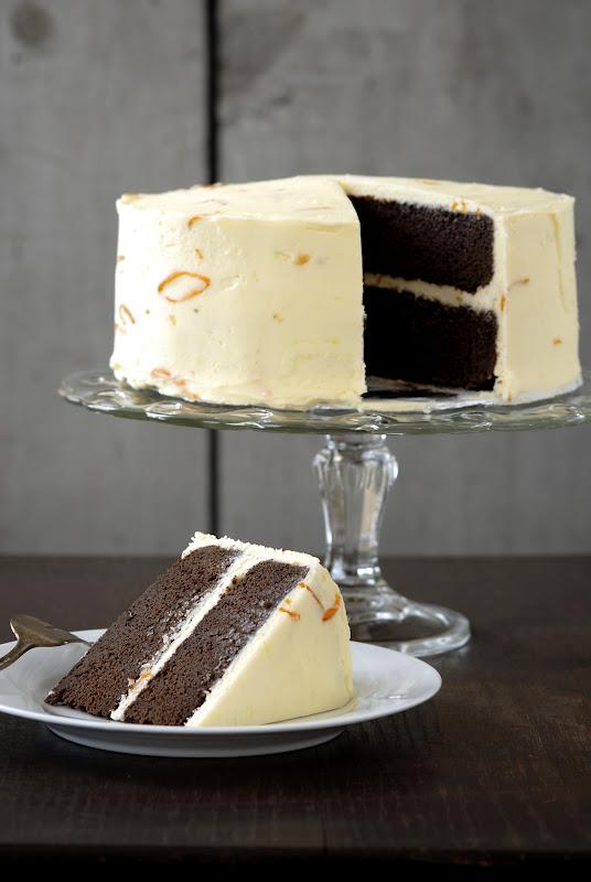 One Year Celebration Chocolate Cake With Kumquat