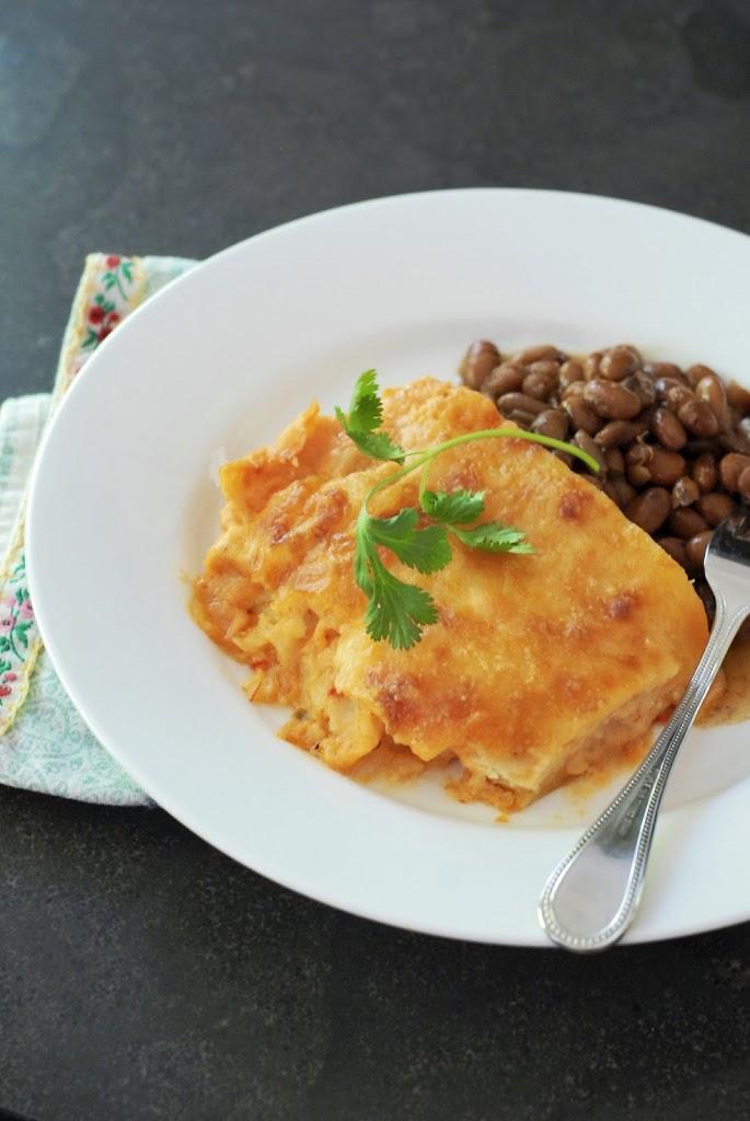 {gluten-free} king ranch casserole | kumquatblog.com @kumquatblog
