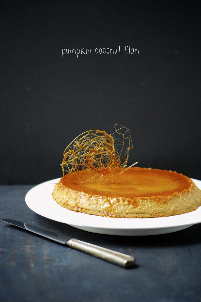 dairy-free pumpkin coconut flan | kumquatblog.com @kumquatblog recipe