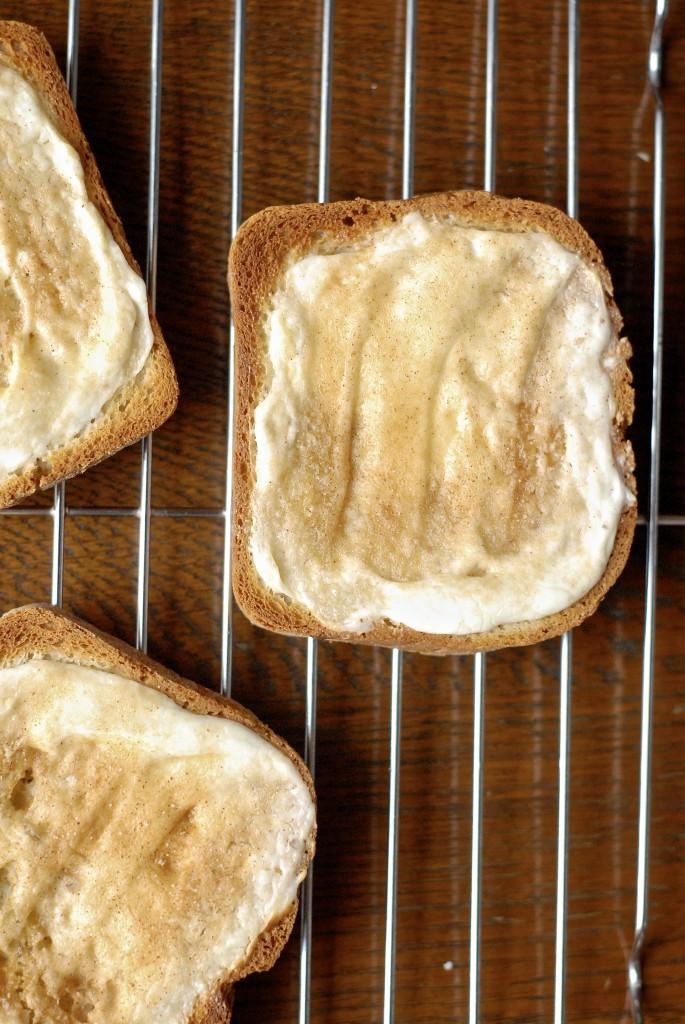 gluten-free cream cheese cinnamon toast brulee