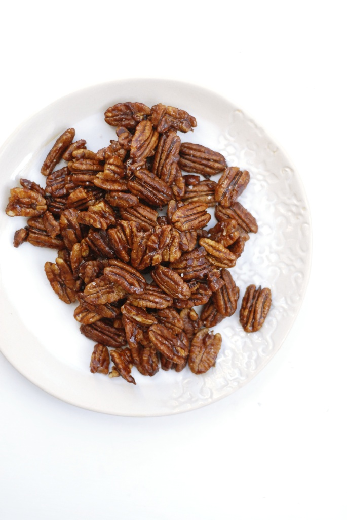 spiced maple pecans 1
