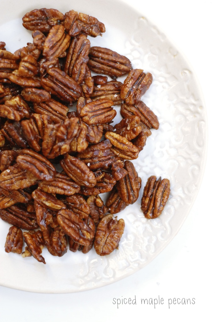 spiced maple pecans 2