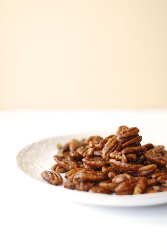 spiced maple pecans 3