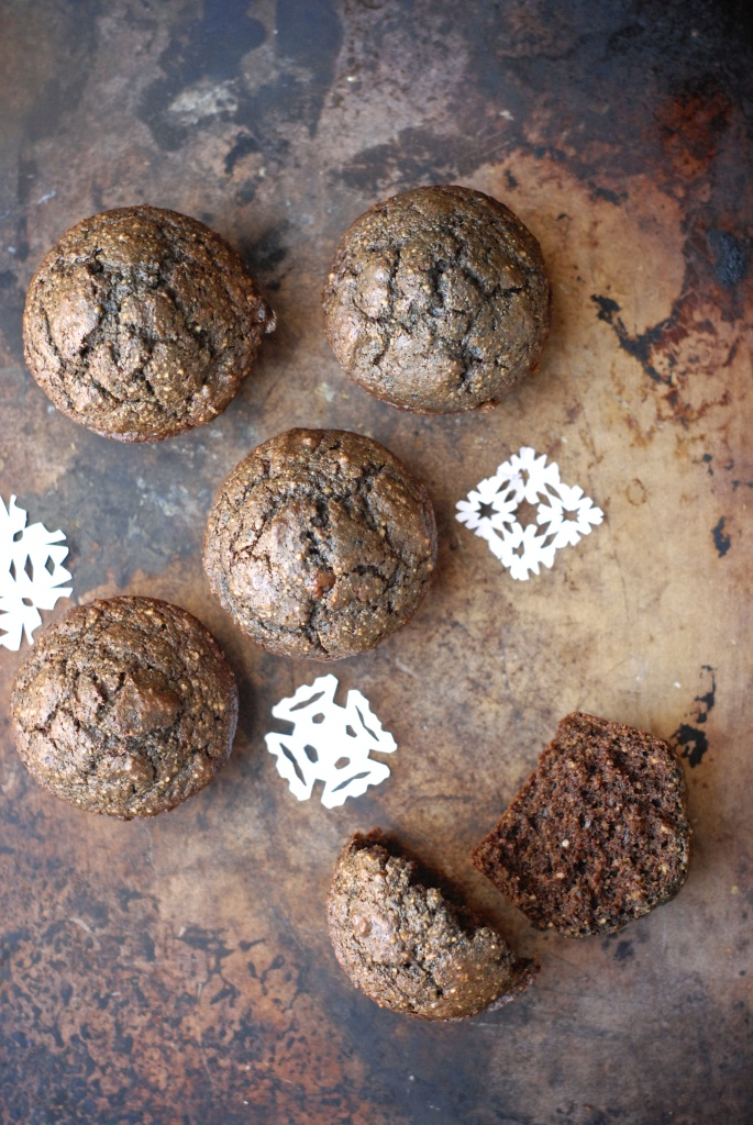 gluten-free superfood chocolate muffins | kumquat