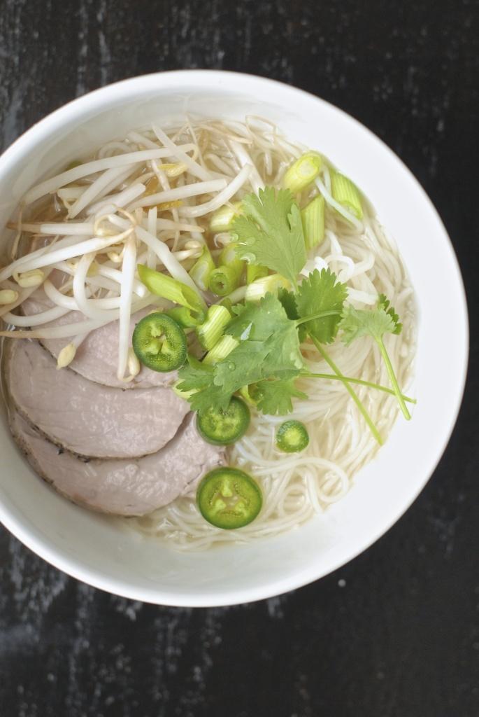 quick vietnamese pork pho | kumquat