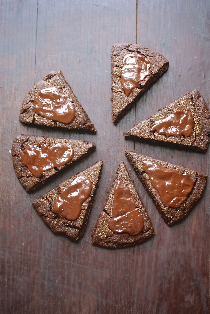 gluten-free triple chocolate scones | kumquat