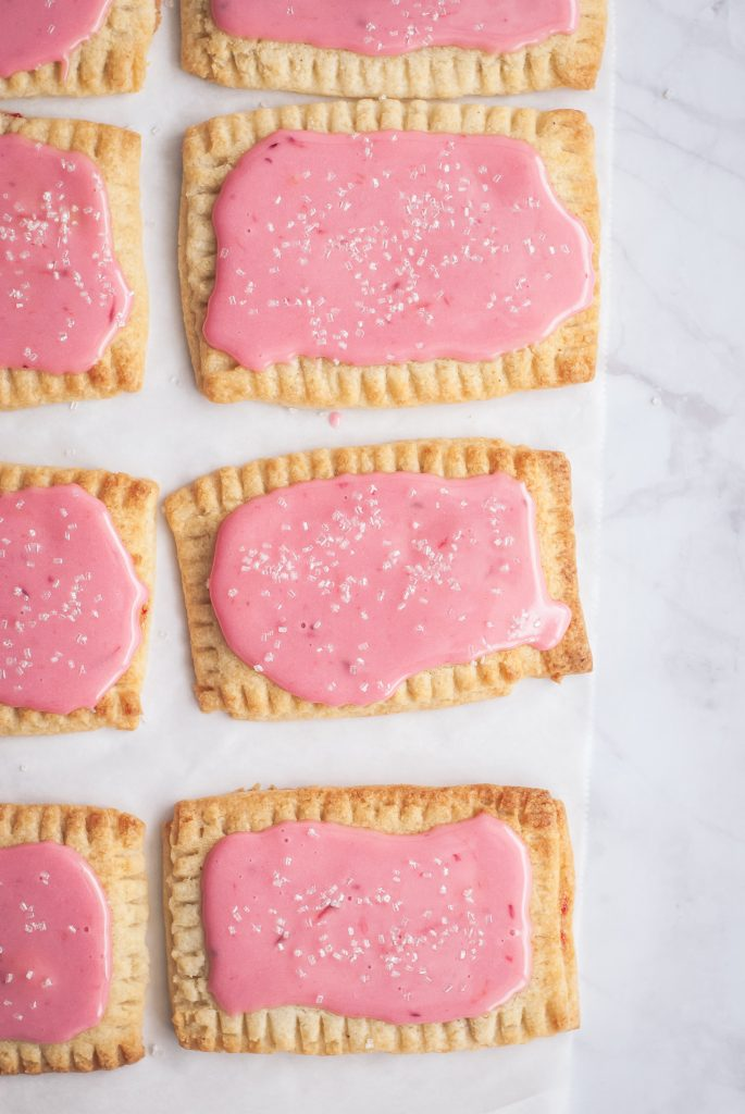 Grain-Free Blood Orange Poptarts | kumquatblog.com @kumquatblog recipe