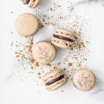 Mexican Chocolate Macarons | kumquatblog.com @kumquatblog