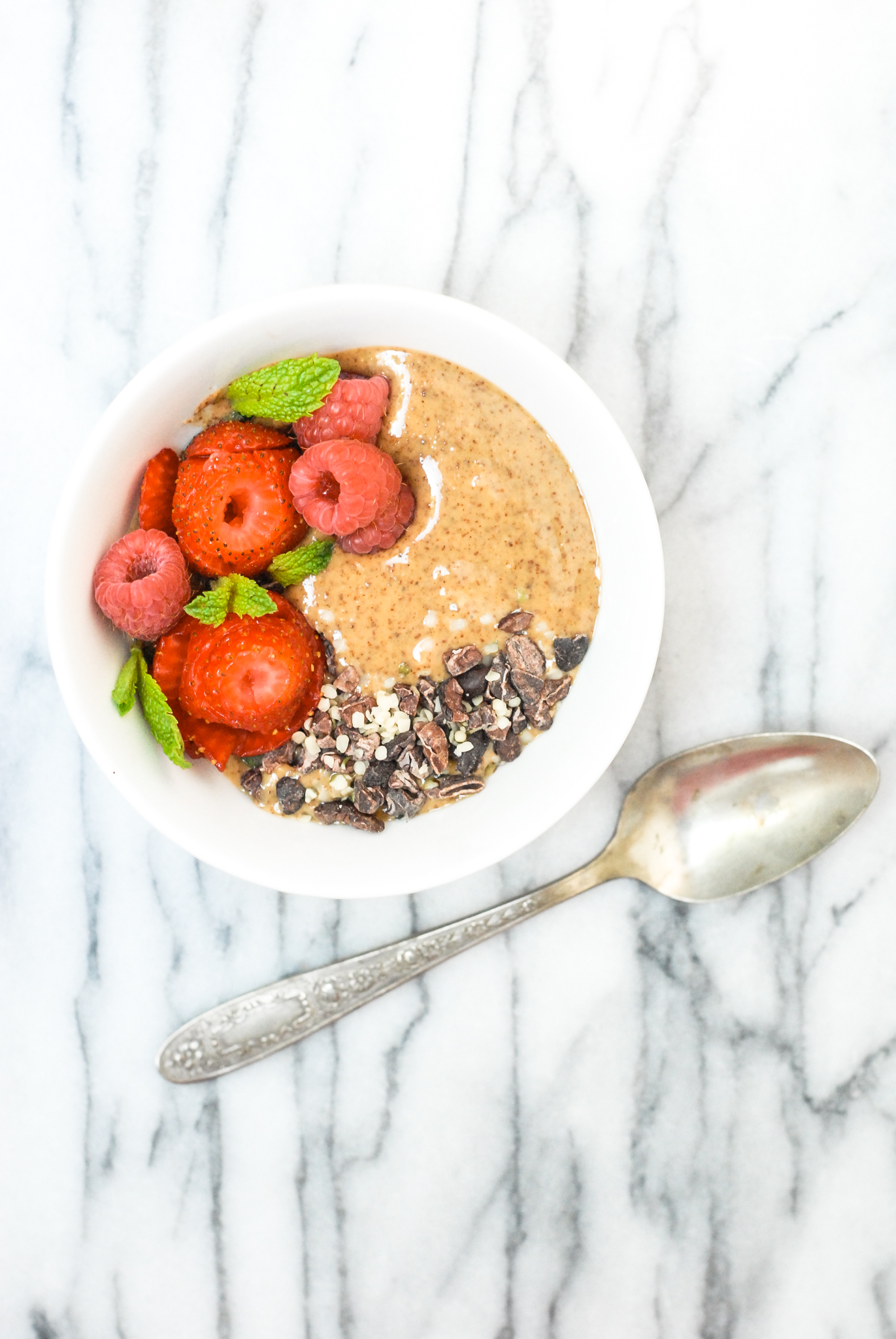 Almond Berry Nut Butter Bowl