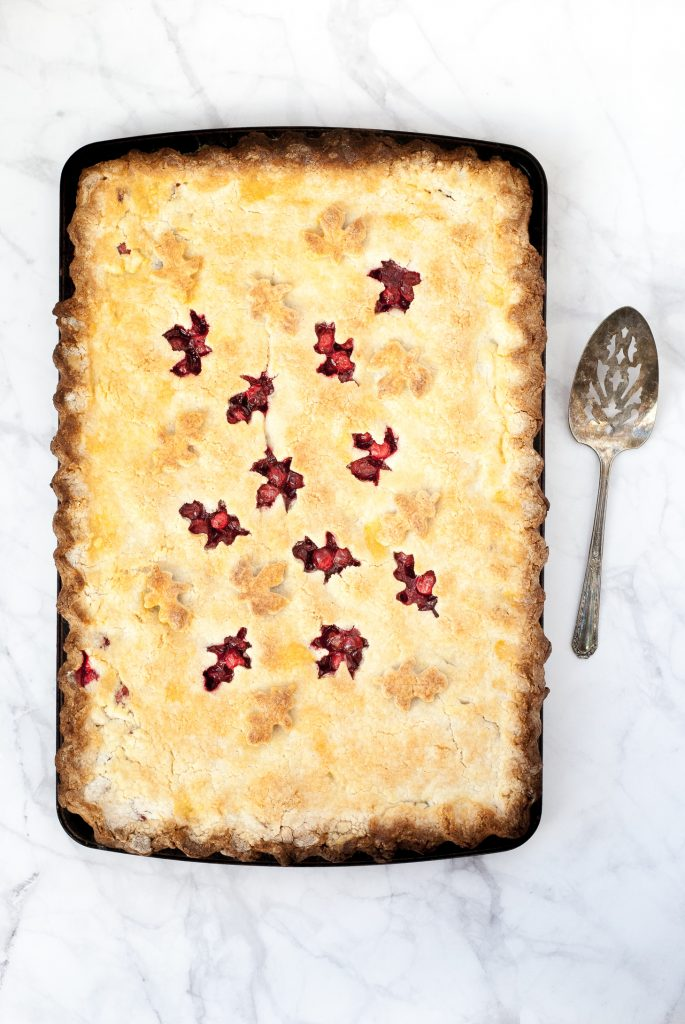 The Best Grain-Free Cranberry Slab Pie