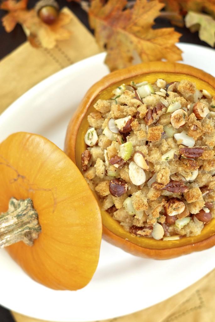 glutino nutty herbed cornbread stuffing | kumquat