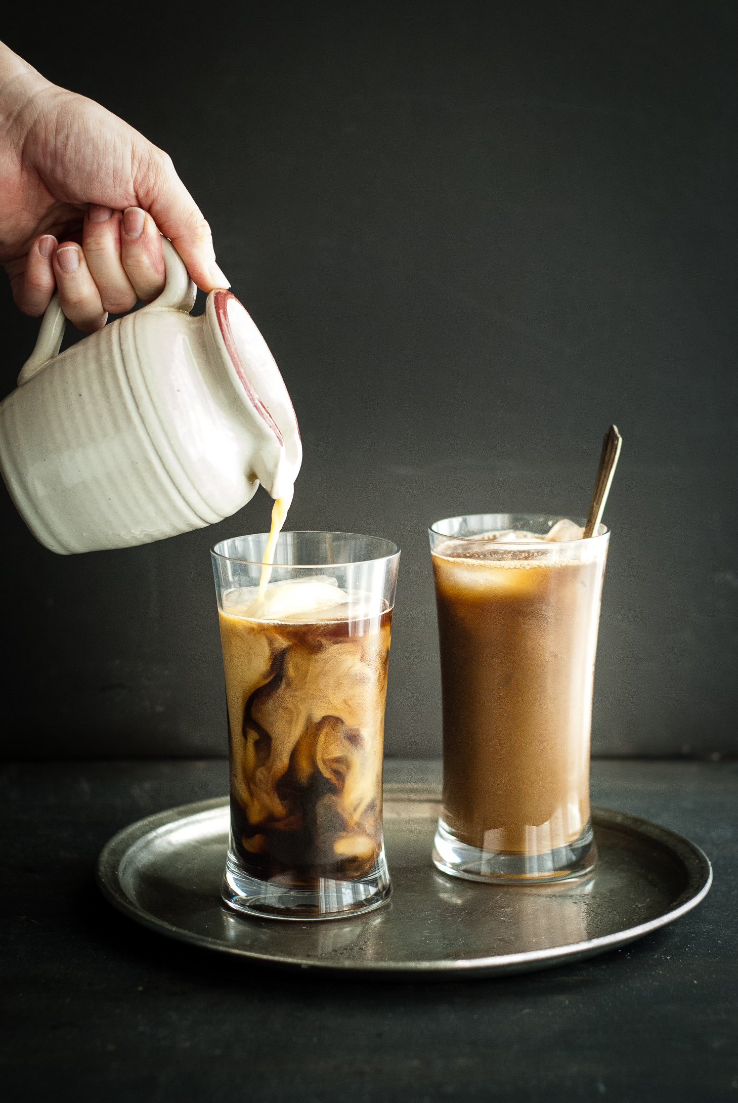 Healing Golden Milk Iced Coffee Latte