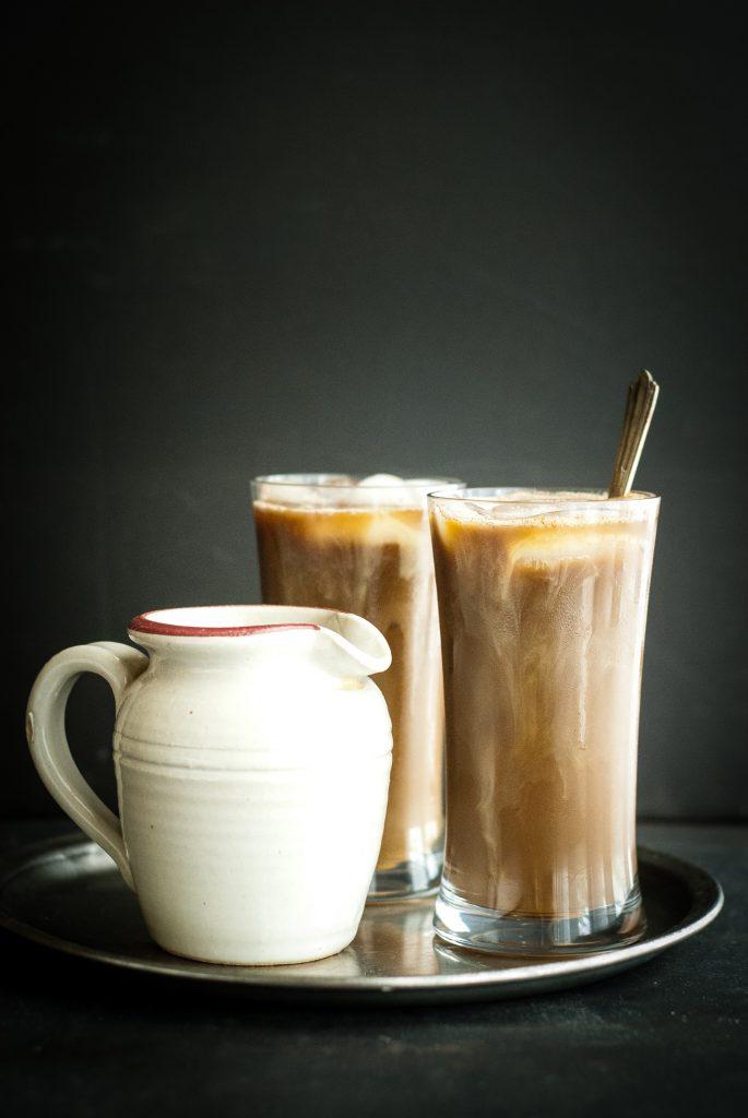 healing golden milk iced coffee latte | kumquatblog.com @kumquatblog recipe