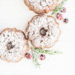 grain-free cranberry-orange holiday bundt cakes | kumquatblog.com @kumquatblog