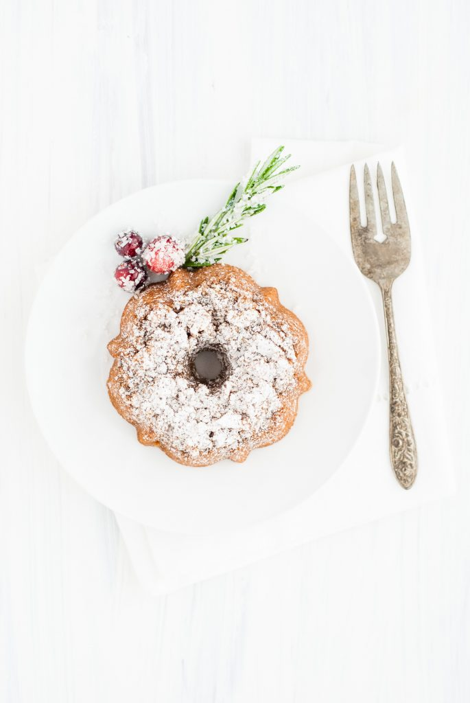 grain-free cranberry-orange holiday bundt cakes | kumquatblog.com @kumquatblog