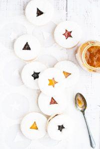 Grain-Free Lemon and Jam Linzer Cookies | kumquatblog.com @kumquatblog