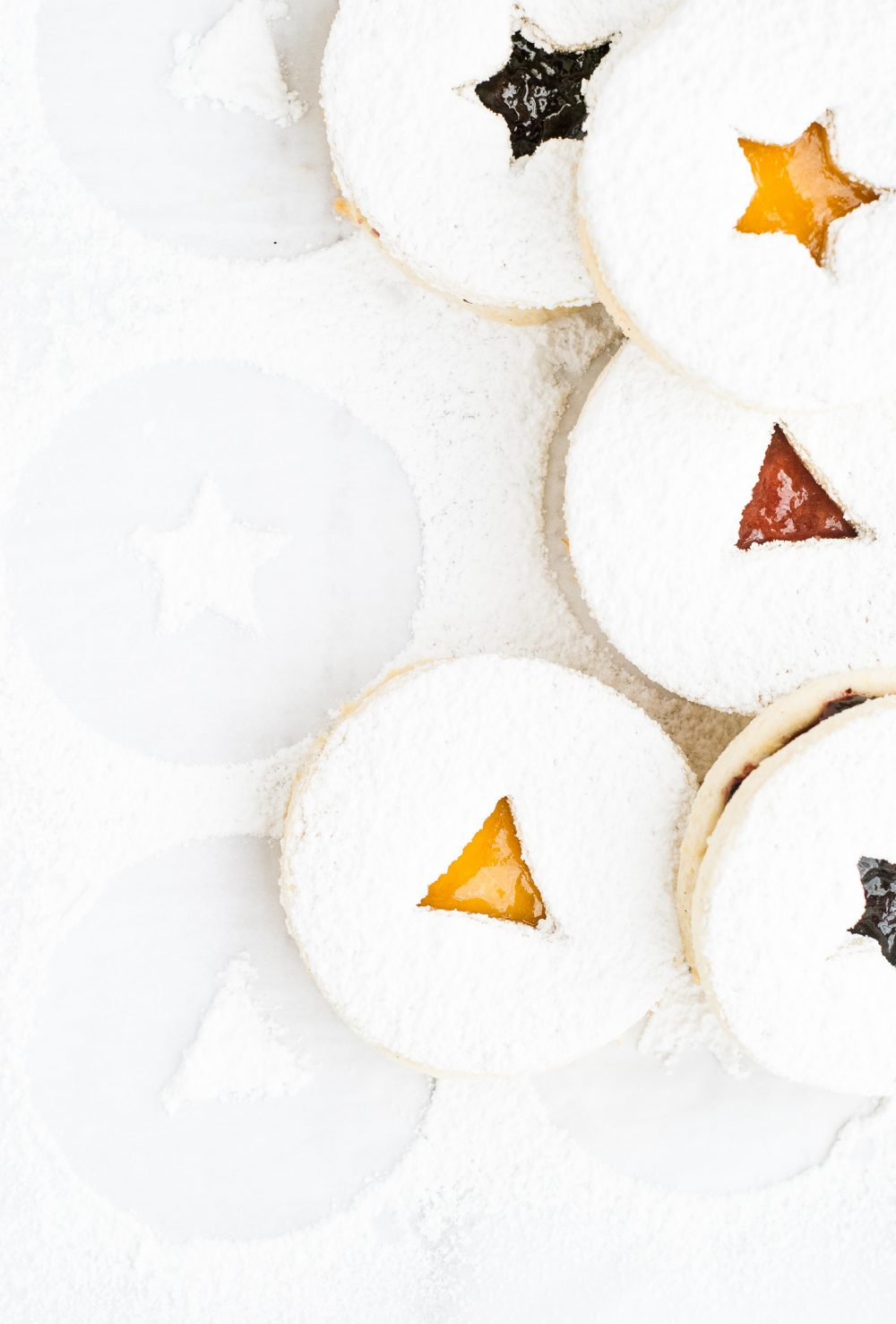 Grain-Free Lemon and Jam Linzer Cookies | kumquatblog.com @kumquatblog