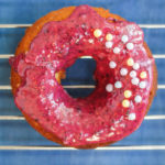Grain-Free Vegan Blueberry Lime Cake Donuts | kumquatblog.com @kumquatblog
