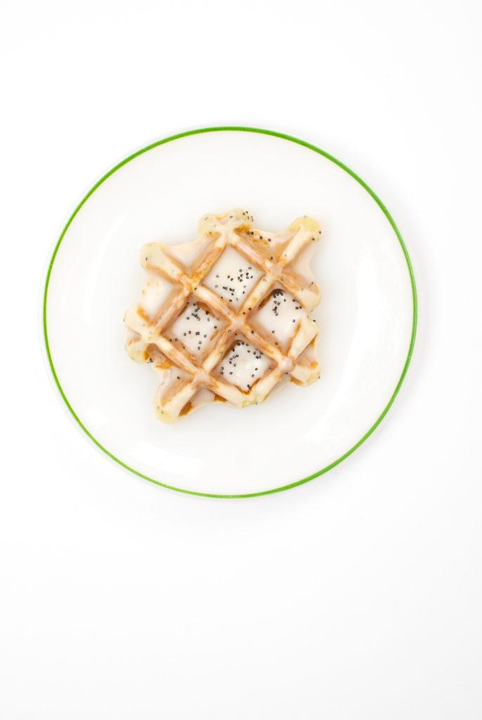 [gluten-free] lemonpoppyseed waffle donuts | kumquat